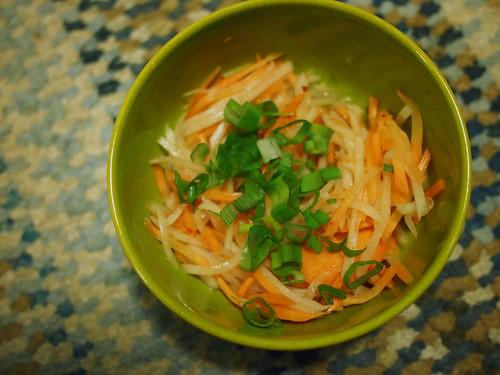 Carrot and Radish salad | by sleepyneko