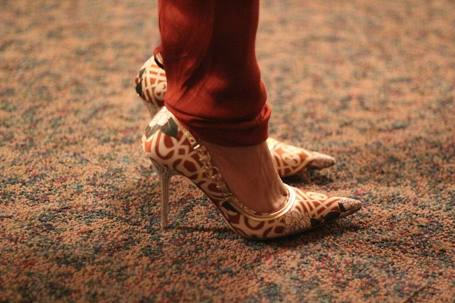 Eshadee's crazy heels