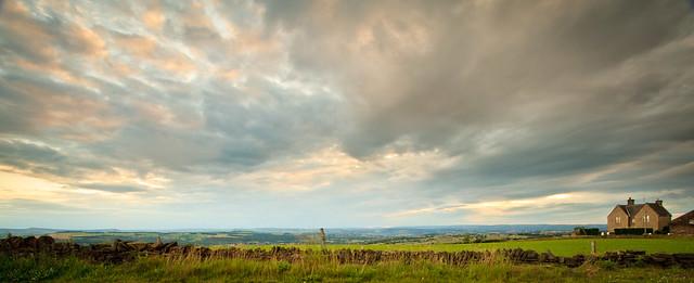Summer evening - Emley Moor