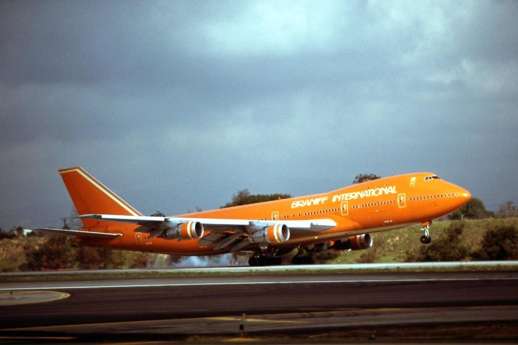 Braniff International Airways, Boeing 747-200B | LAX March, … | Flickr