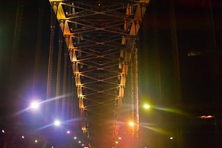 Sydney Harbour Bridge at night..