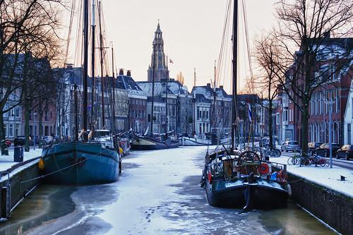 An early winter morning in Groningen (Explore) | by Bert Kaufmann