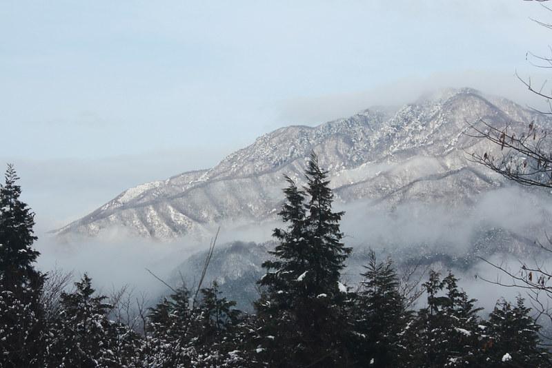 冬の高川山