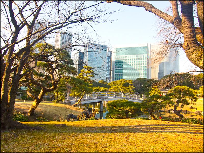 Los jardines Hama-Rikyu (Tokio)