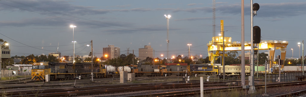 South Dynon panorama by michaelgreenhill