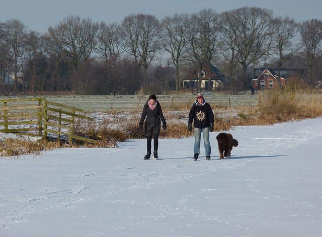 Schaatsen in Friesland