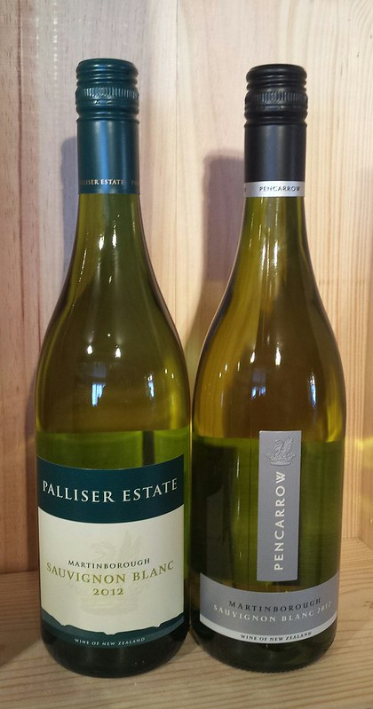 Palliser Estate and Pencarrow Sauvignon Blanc Martinborough New Zealand