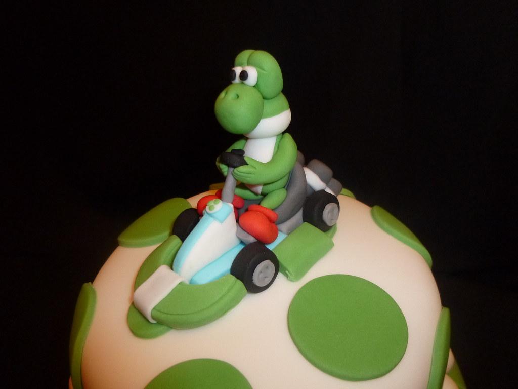 Cool Yoshi Birthday Cake Dawn Flickr Funny Birthday Cards Online Necthendildamsfinfo