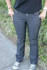 Angela Wolf Bootcut Jeans