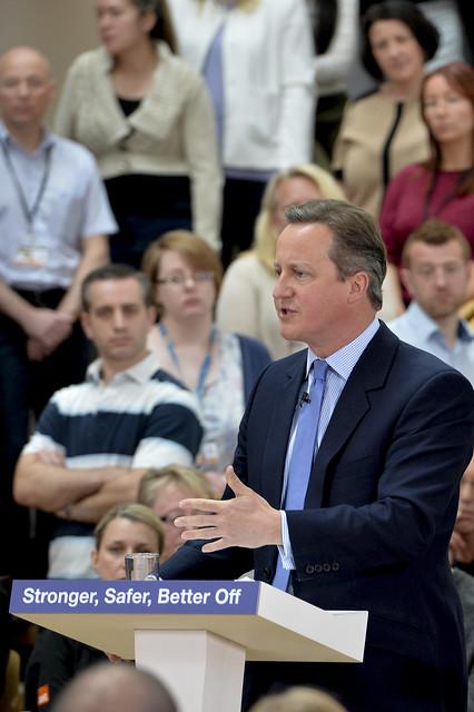 PM and Chancellor speak at B&Q Headquarters