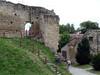Skalica – zbytky hradeb u rotundy, foto: Petr Nejedlý