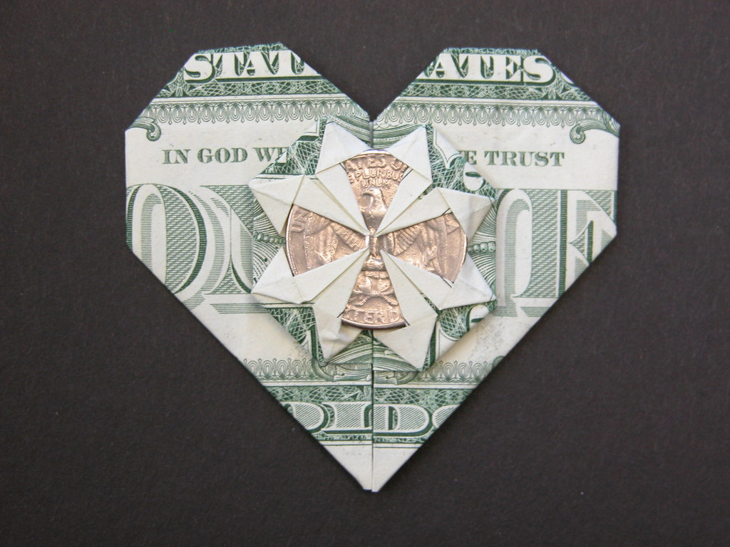 How to fold Money Origami, or Dollar-Bill Origami | 768x1024