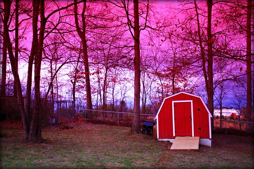 lighting blue trees winter light red sky mountains cold color nature beautiful clouds canon dark outdoors eos rebel dawn lights evening landscapes photo nc december dusk low north barns carolina scenes sheds xsi luminosity colorphotoaward