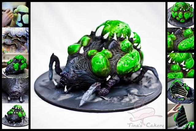 Baneling Cake Starcraft 2