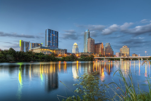 sunset architecture austin nikon cityscape texas hdr d90