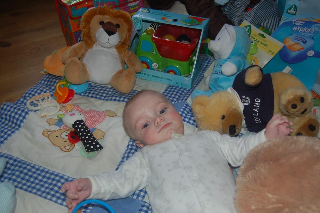 So many cuddly toys