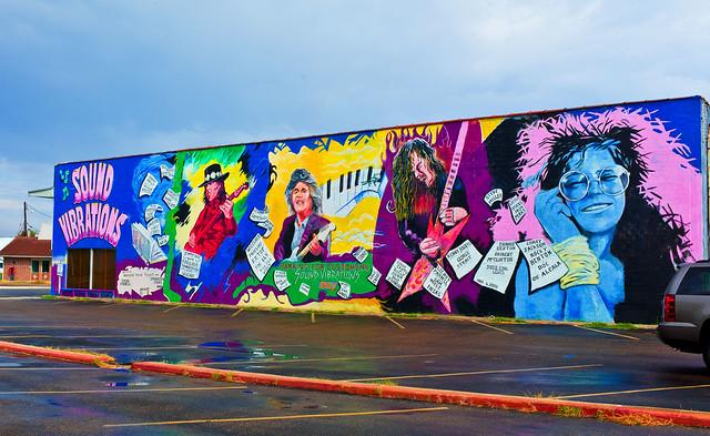 Texas Rocker Wall Art