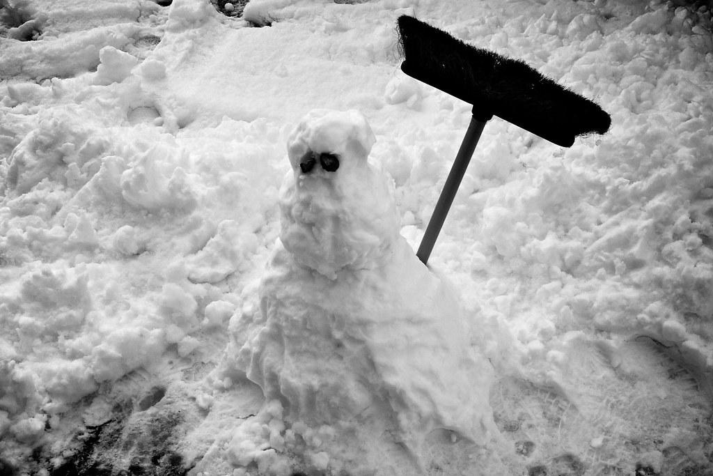 21/366: The little snowman