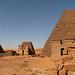 Pyramidy Meroe, severní pohřebiště, foto: Andrea Kaucká