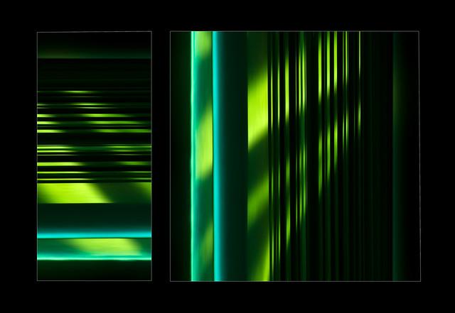 Diptych in green (Explore)