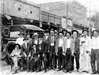 Civil War Veterans reunion on August 31, 1917: Madison, Florida