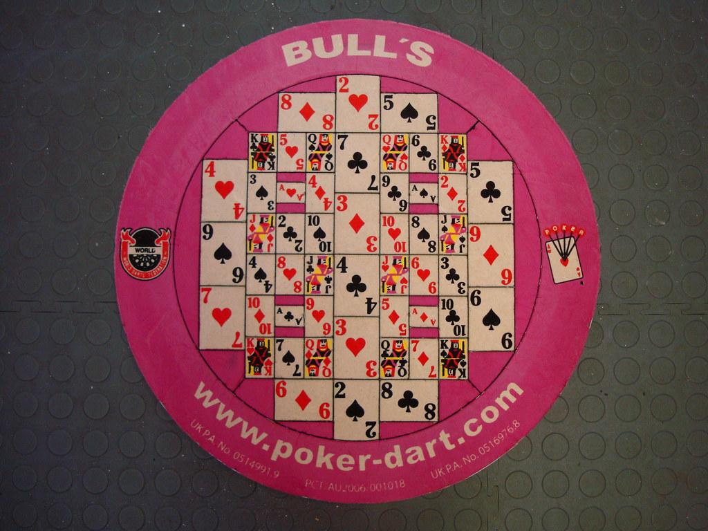 Bull S Pink Poker Bristle Dartboard David Hart Flickr