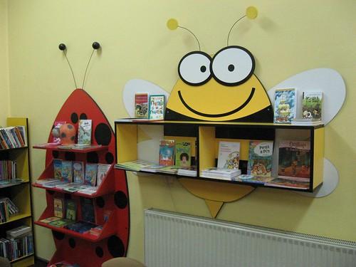 New bookshelf for our second graders