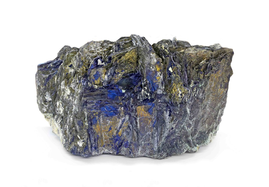 Covellite | Covellite  The mineral is copper sulfide  Summit