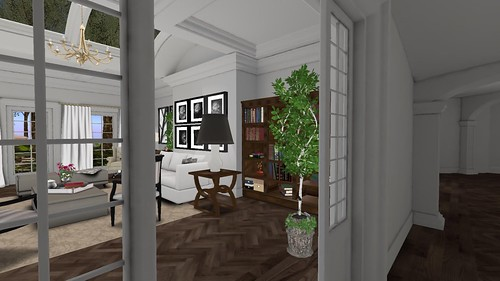 Park Place Home Decor, 24 Event Ashford LR (hallway view) | by Hidden Gems in Second Life (Interior Designer)