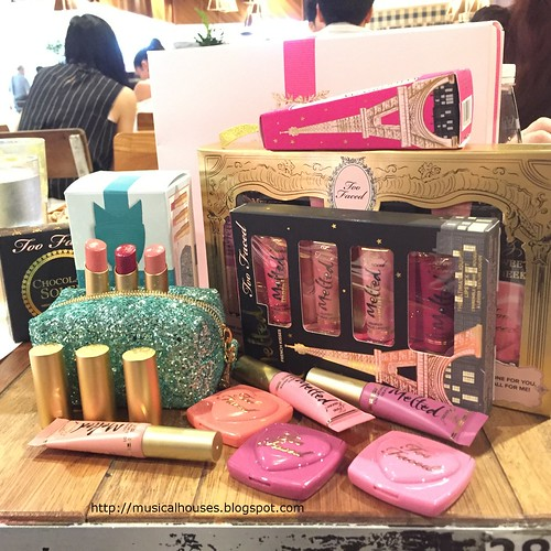 Too Faced Christmas in Paris Collection | by musicalhouses