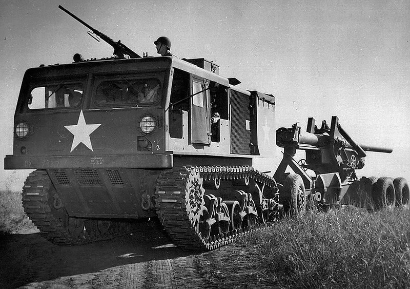 Ein US M4 High-Speed Tractor