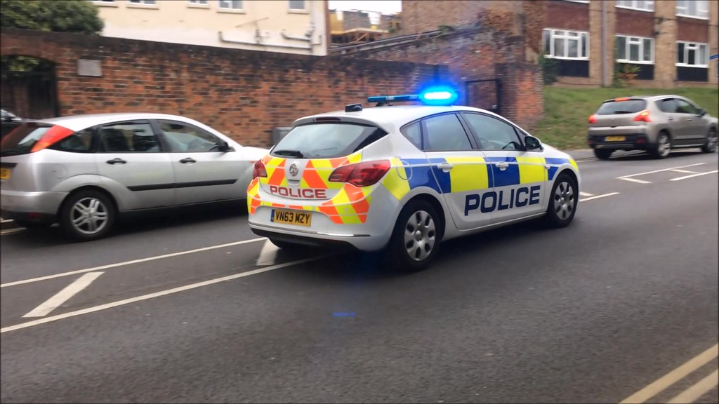 Hertfordshire Police Responding | Here we can see a Vauxhall… | Flickr