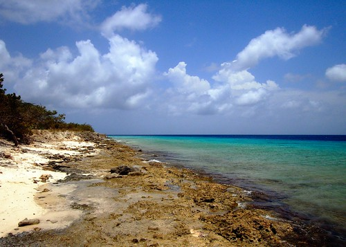 sea sky clouds beaches caribbean bonaire ©allrightsreserved