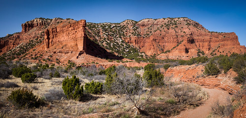 Caprock Point, South Prong Campground, Caprock Canyons State Park | by Russell J Bennett