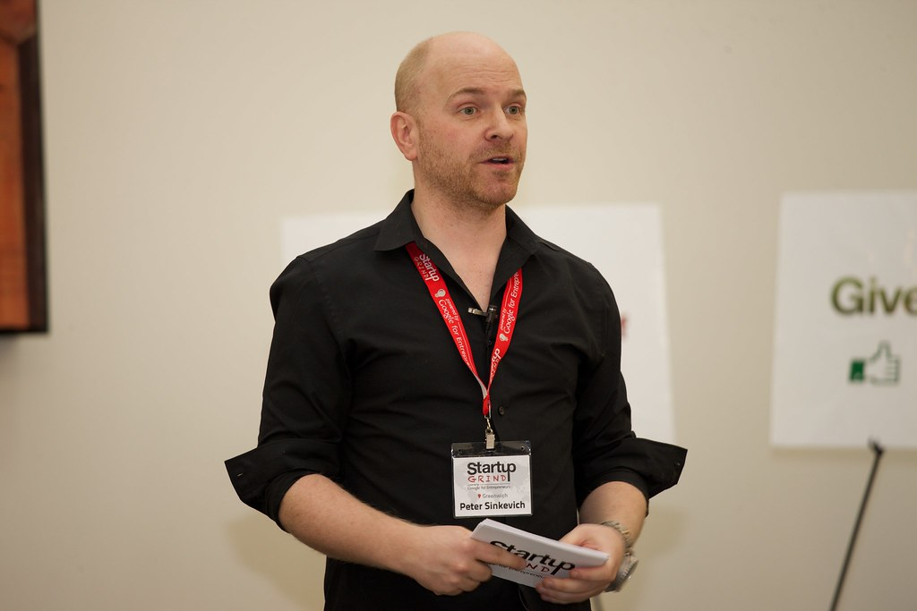 Startup Grind Greenwich Chapter Director Peter Sinkevich