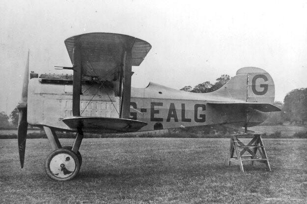 Avro 539B Falcon G-EALG