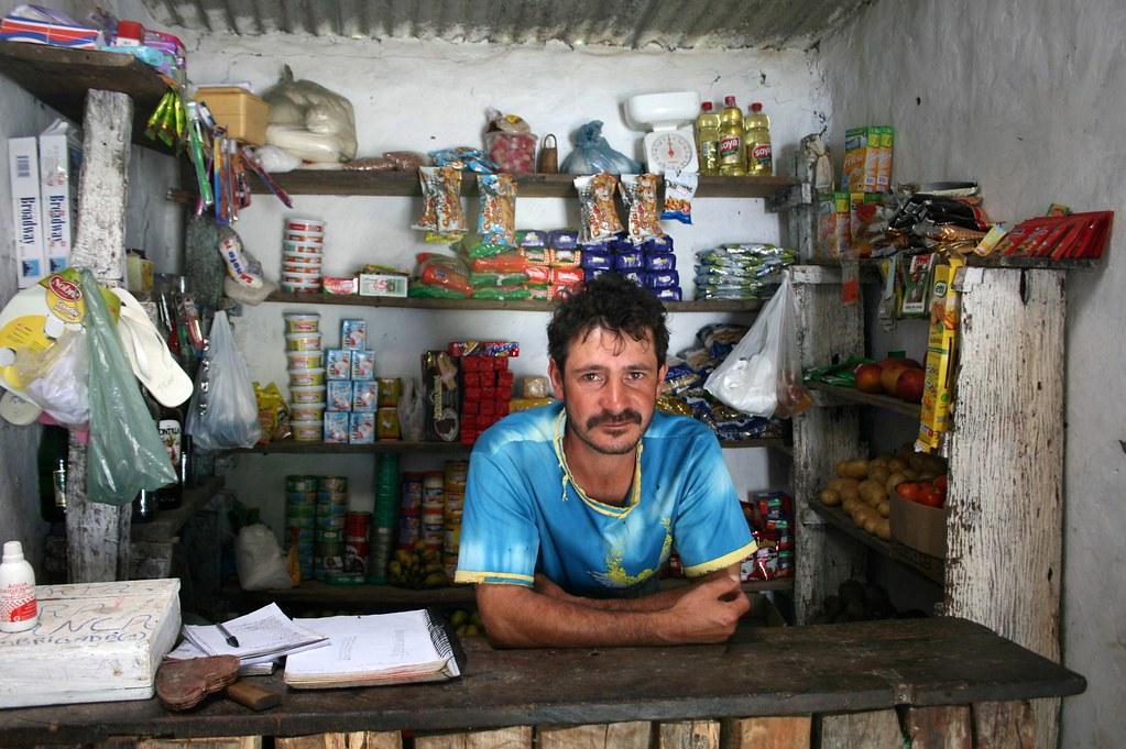 Sr. João no Vale do Paty. Parque Nacional Chapada Diamantina - Bahia