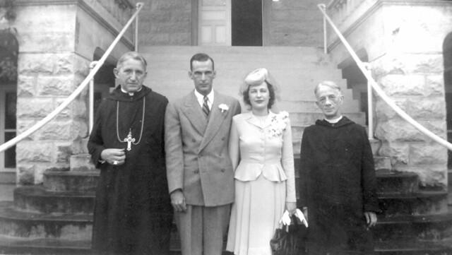 Abbot Francis Sadlier, ?, ?, Father Jerome Wisniewski
