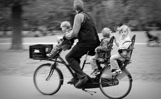 bicycle uit de schoenendoos niet scherp maar wel