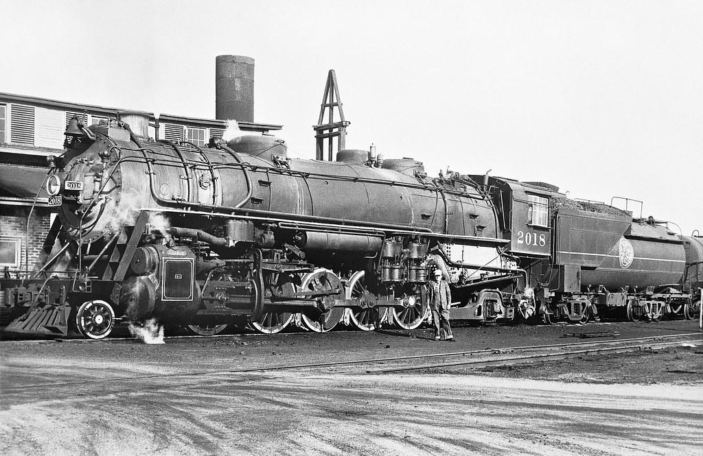 Atlantic Coast Line 2-10-2 Santa Fe, Class Q-1, Steam Loco… | Flickr