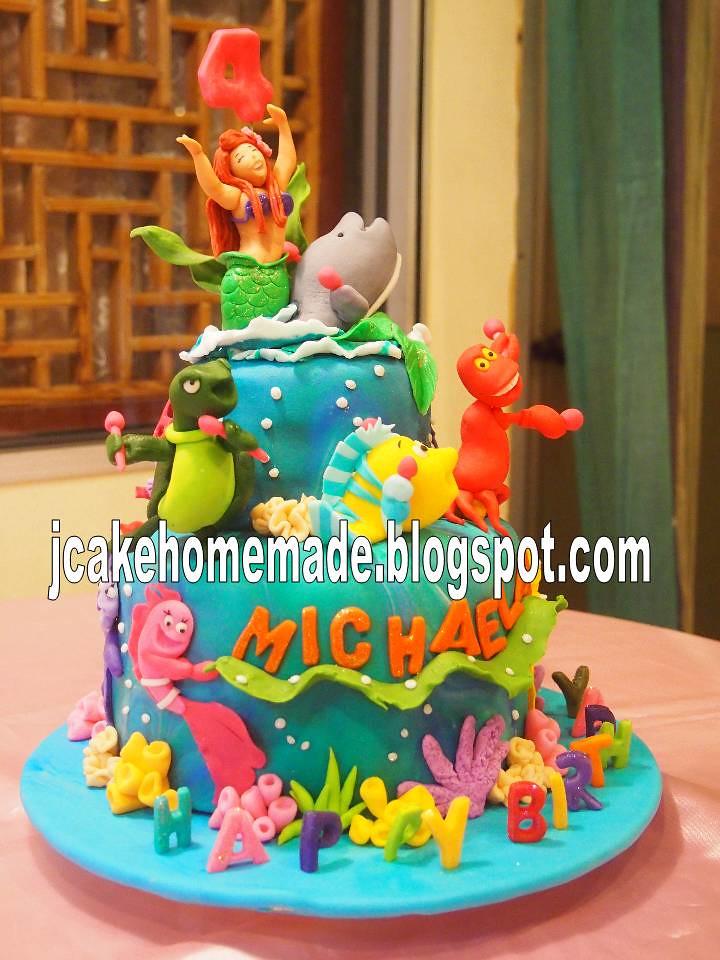 Pleasant The Little Mermaid Princess Ariel Cake Happy 4Th Birthday Flickr Funny Birthday Cards Online Drosicarndamsfinfo