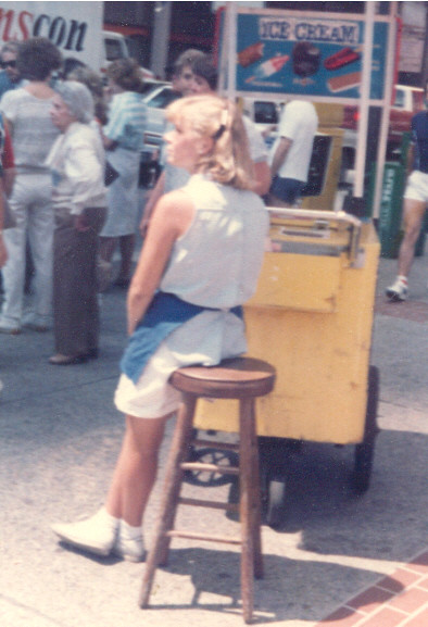 Ice Cream Girl #2, 1986