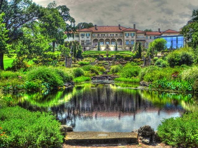 Philbrook Garden East side
