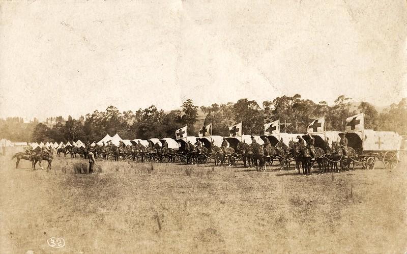 Australian Field Ambulance - First World War 1914 - 1918