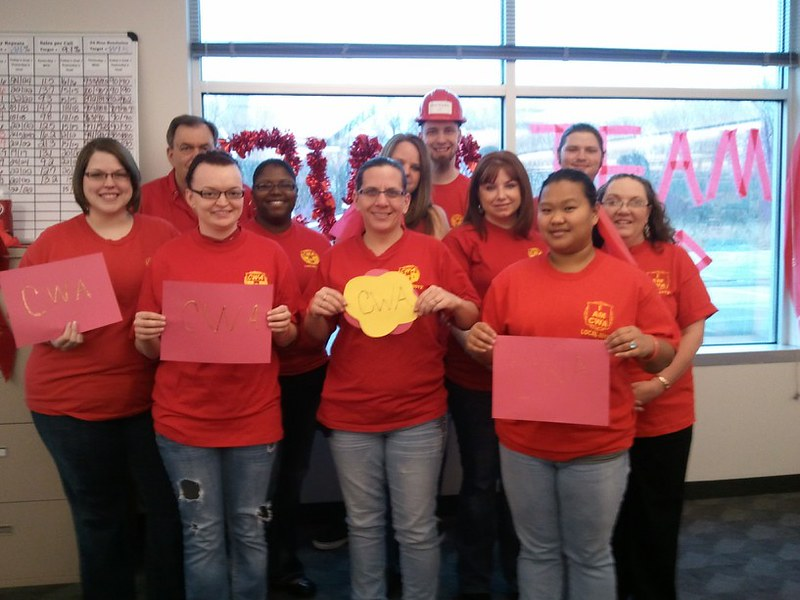 CWA Local 6012 contest winners for week 1