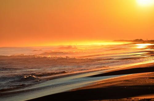 ocean sea sun ny newyork color beach nature sunrise fun evening sand waves earth longisland ringexcellence nikond5100