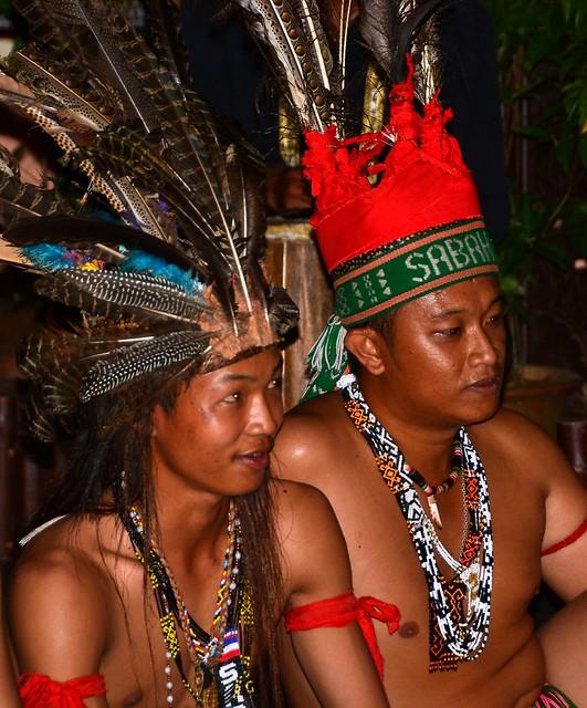 Malaysian traditional dance head-dress.