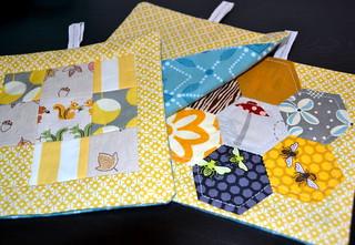 patchwork sachets :)