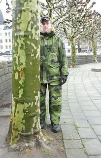 Camoflage trees