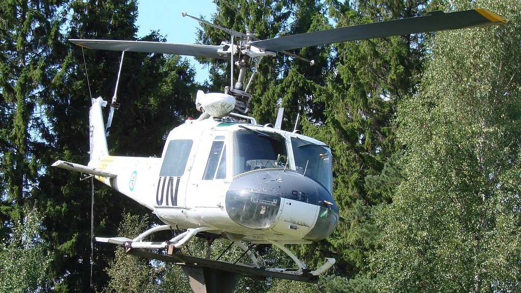 Bell 204 UH-1B-BF Iroquois at Rygge